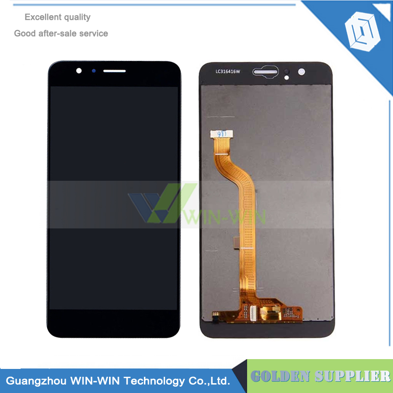 10 unids/lote 5.2 pulgadas honor 8 lcd display + touch screen reemplazo asamblea