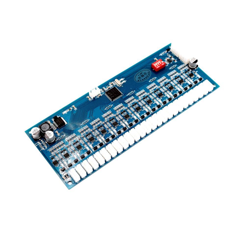 12V/24V RS485 locker Storage Cabinet controller electronic cabinet Lock Controller board 8CH 12CH 14CH 18CH 24CH 36CH