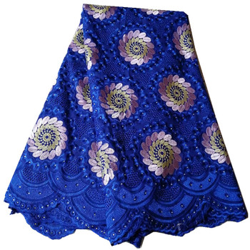2019 High Quality Swiss Voile Lace Fabrics In Switzerland Latest African French Lace Fabrics Voile Cotton Lace Fabric  pl65-2742