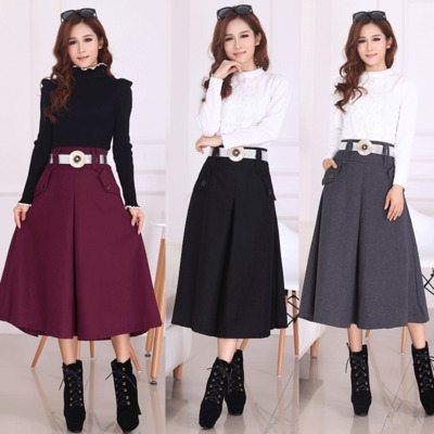 Aliexpress.com : Buy Belted Long Skirt for Women 2016 Fashion New ...