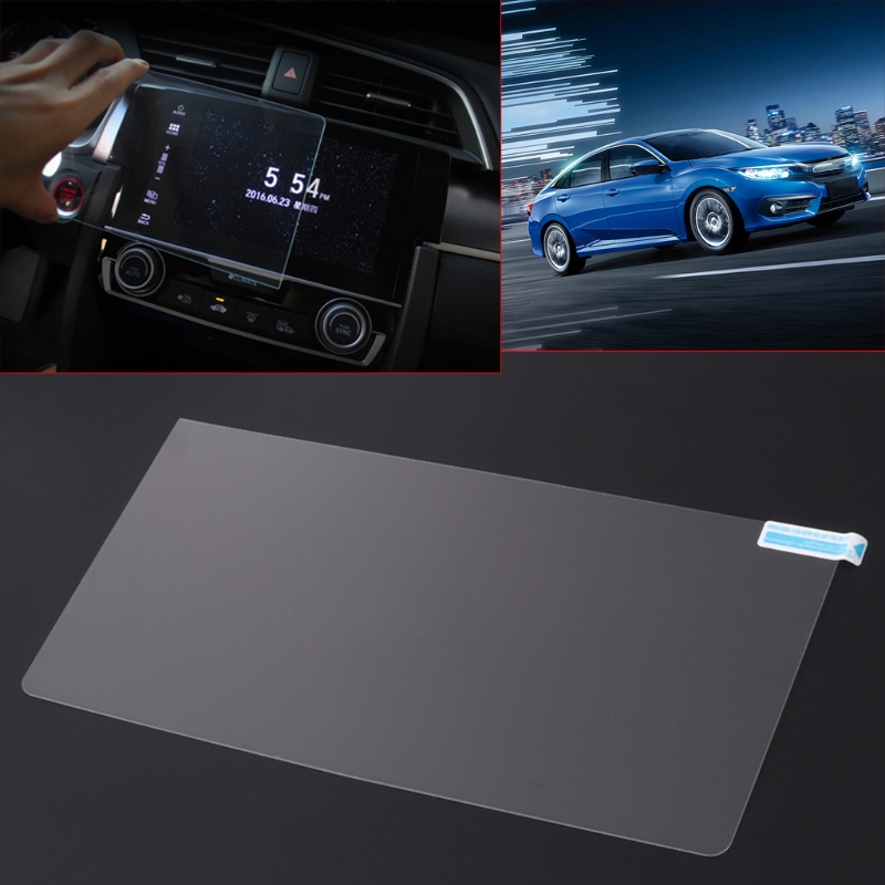 Car GPS Navigation Display Screen Protector Film For Honda Civic 10th 2016 2017 in Car Monitors from Automobiles Motorcycles
