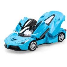 1:32 Alloy Car Model Diecast Sound Light Pull Back Door Toy for Children Hot Hot-Wheel Boy