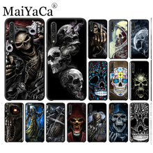 Grim Reaper Skull Skeleton Soft Shell Phone case Cover For huawei honor 8x 7a view10 lite 20 10