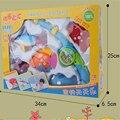 Frete Grátis ABS Banho de Pesca Brinquedos Para Crianças Brinquedos para o Banho Para Recém-nascidos Manckin Banheira de Água Jogo Brinquedos Early Learning Presente