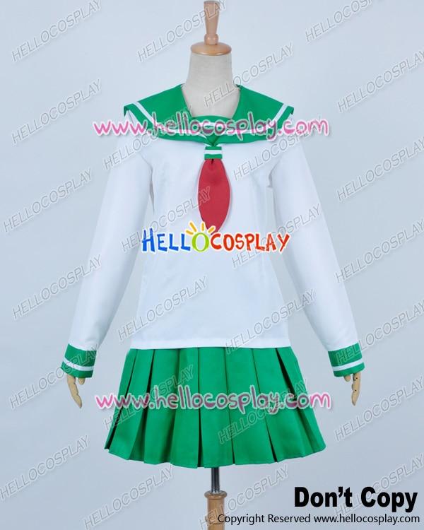 Inuyasha Cosplay Kagome Higurashi kostýmní uniforma Premade Standardní velikost H008