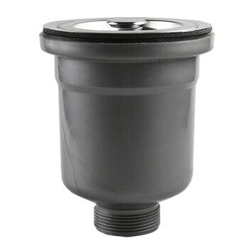 Talea Нержавеющаясталь кухонная сливная система сборки сеточка для мусора и корзины Пробка-Фильтр отходов плагин фильтры для раковины ловуш...