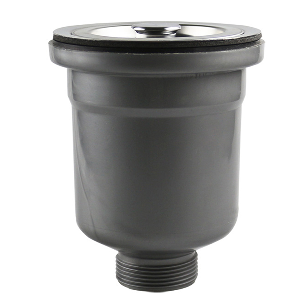 Talea Stainless Steel Kitchen Sink Drain Assembly Waste Strainer and Basket Strainer Stopper Waste Plug Sink Filter Trap Drainer