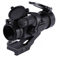 Hot Outdoor Hunting Riflescopes 32mm M2 Sighting Telescope Laser Gun Sight with Reflex Red Green Dot Scope for Picatinny Rail