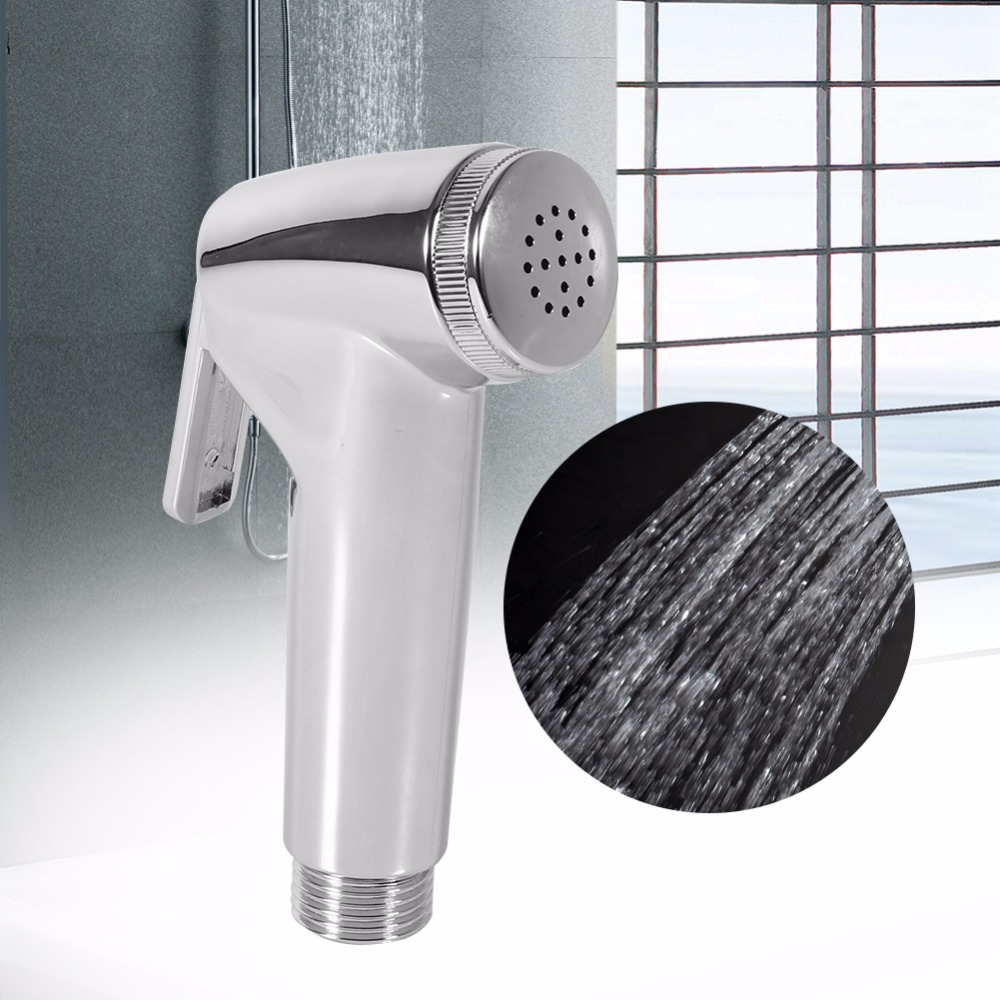 hand held bathroom toilet bidet spray shower head water nozzle sprayer body butt clean tool. Black Bedroom Furniture Sets. Home Design Ideas