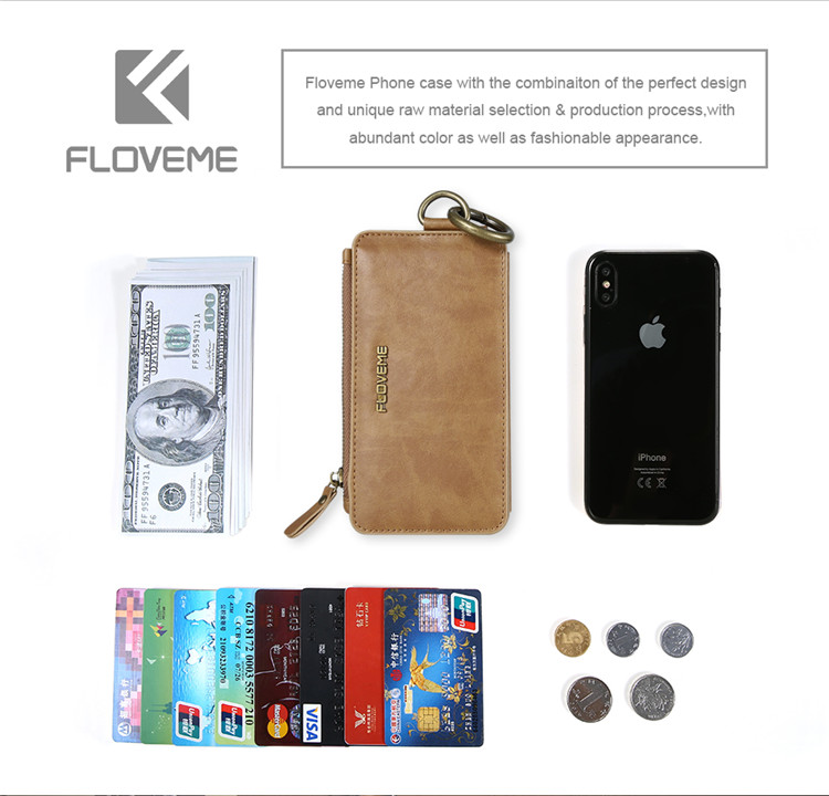 HTB1hWgGf8smBKNjSZFsq6yXSVXaD FLOVEME Luxury Retro Wallet Phone Case For iPhone 7 7 Plus XS MAX XR Leather Handbag Bag Cover for iPhone X 7 8 6s 5S Case shell