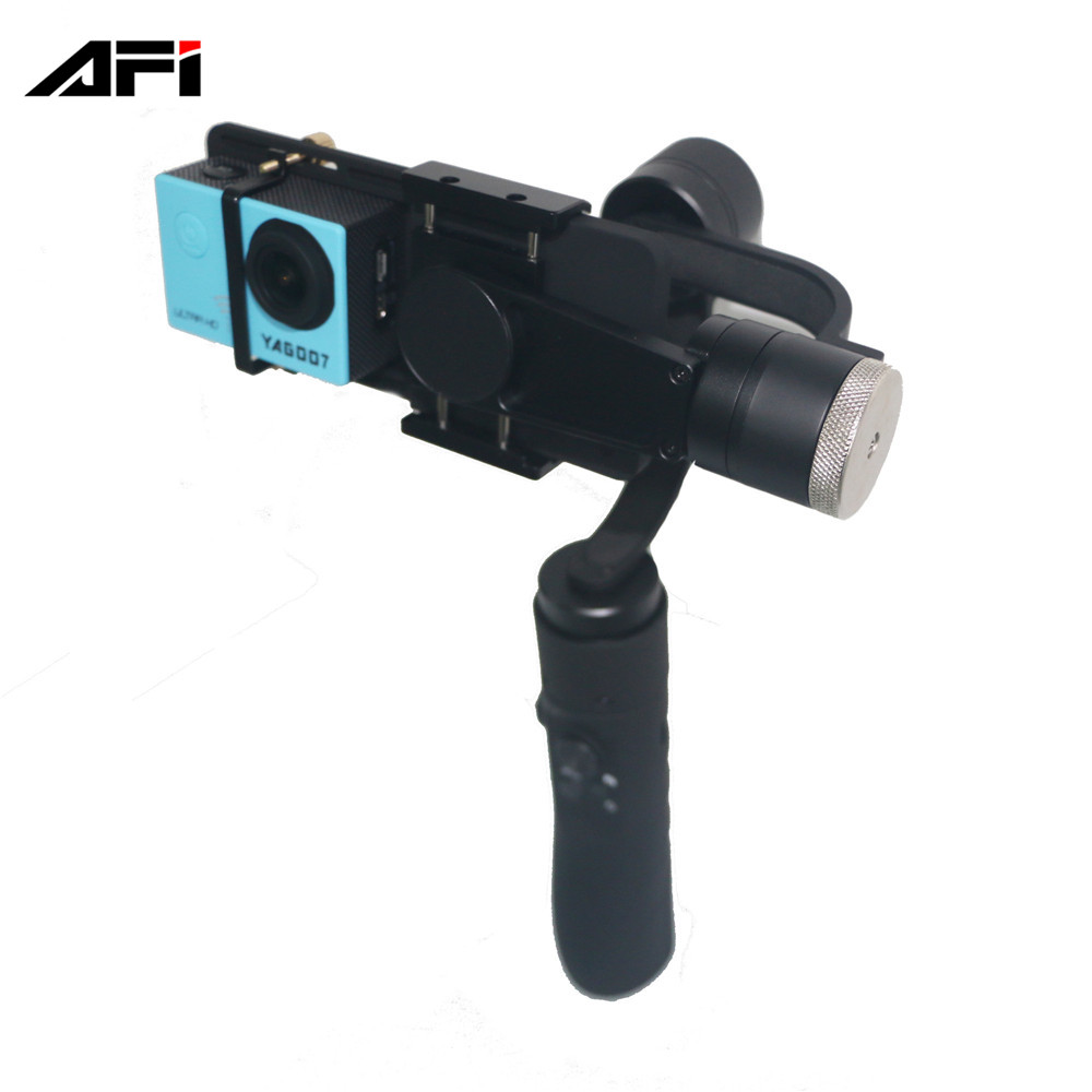 made in china AFI V3 3 axis handheld gimbal stabilizer for sj4000 gopro 4 5 gimbal