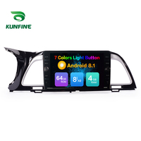 Octa Core ROM 64GB Android 8.1 Car DVD GPS Navigation Player Deckless Car Stereo for KIA K4 2014 Radio Steering Wheel Control