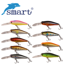 Smart Minnow Fishing lure 6cm 7.8g Floating Swimbait Fishing Wobblers Iscas Artificiais Para Pesca Leurre Souple Fishing Tackle
