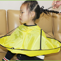 Salon Waterproof Kids Hair Cutting Cape Hairdresser Styling Cloak Haircut Hairdresser Gown Clothing Apron Barber Salon Styling|Shampoo Capes| |  -