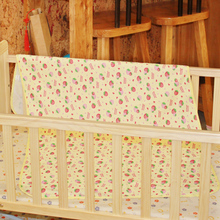 70*120 CM for Crib New Cartoon Reusable Diaper Baby Infant Thicken Waterproof Urine Bed Mat Travel Home Cover Burp Changing Pads