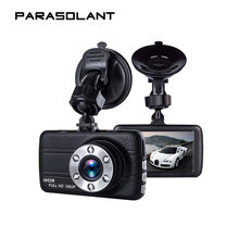 PARASOLANT Leather Full 1080PHD Driving Recorder 170 Degrees Wide-angle Fill Light HD Night Vision Camera Car G-sensing Dash Cam