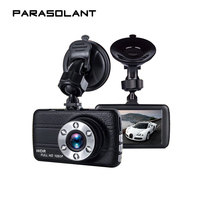 PARASOLANT Leather Full 1080PHD Driving Recorder 170 Degrees Wide Angle Fill Light HD Night Vision Camera