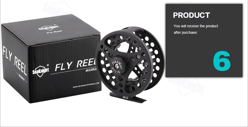 seaknight maxway чпу нахлыстом барабанах большая беседка алюминия 7/8 летучей рыбы подачи катушки колесо соленое озеро 3bb 0.50 мм/200 м 55 мм