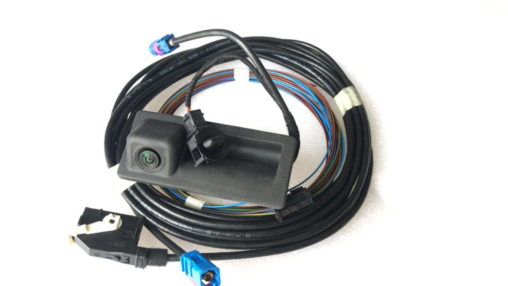 HOT SALE] ASTYO Car RGB Rear view Camera +Cable For VW Golf