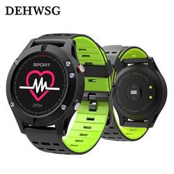 2017 Новый IP67 Водонепроницаемый Смарт-часы альтиметр барометр термометр сердечный ритм Bluetooth 4.2 GPS SmartWatch для Apple Android