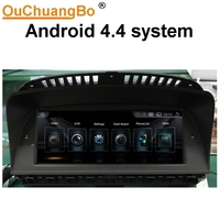 Ouchuangbo Car Audio Gps Radio Stereo Navi For E65 E66 2003 2008 With BT Aux Quad
