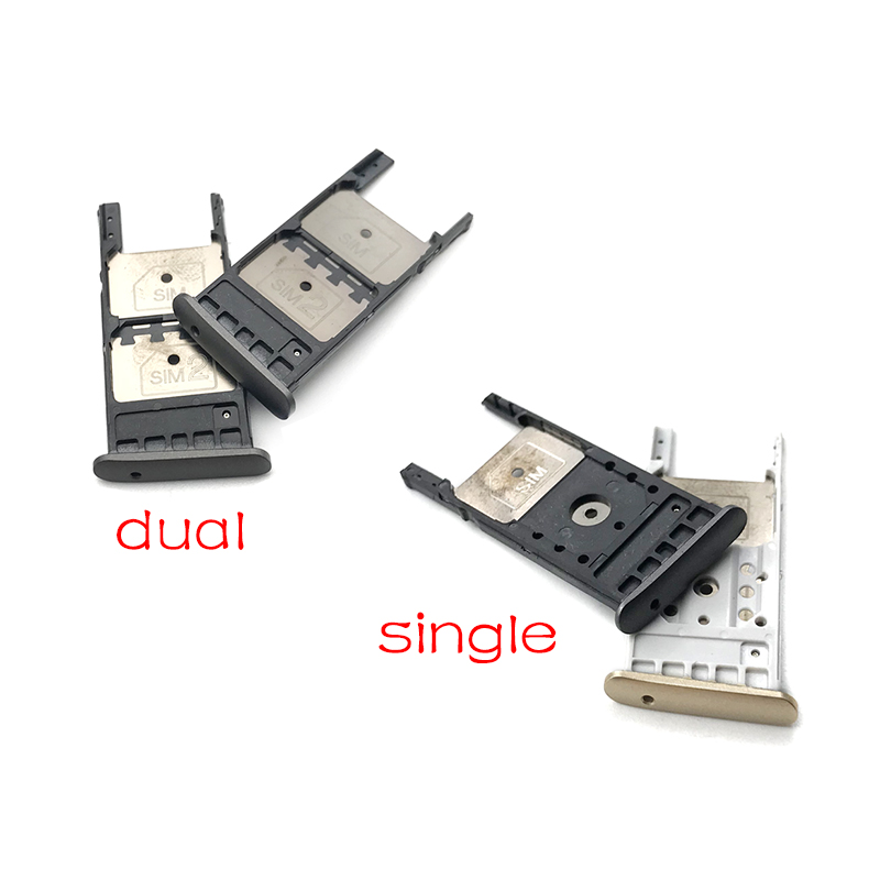 New Single and Dual sim card tray Compatible For Motorola