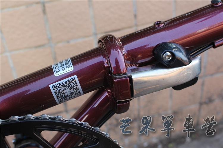 "HTB1hWiJXJzvK1RkSnfoq6zMwVXay Fnhon CR-MO Steel Folding Bike 16"" Minivelo Mini velo 9 Speed Bike  Bicycle overall bike V Brake"