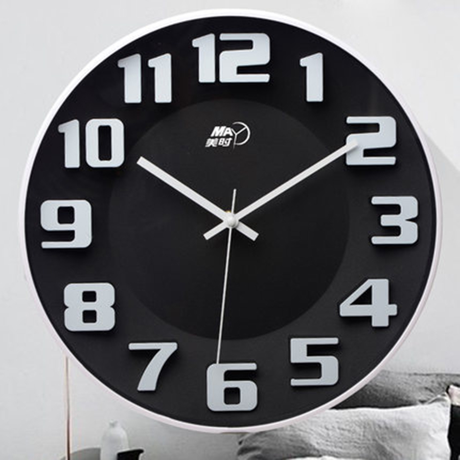 3d Large Creative Cartoon Wall Clock Modern Design Silent Kids Nordic Kitchen Clock Reloj De Pared Wall Clocks Home Decor 5C3523d Large Creative Cartoon Wall Clock Modern Design Silent Kids Nordic Kitchen Clock Reloj De Pared Wall Clocks Home Decor 5C352