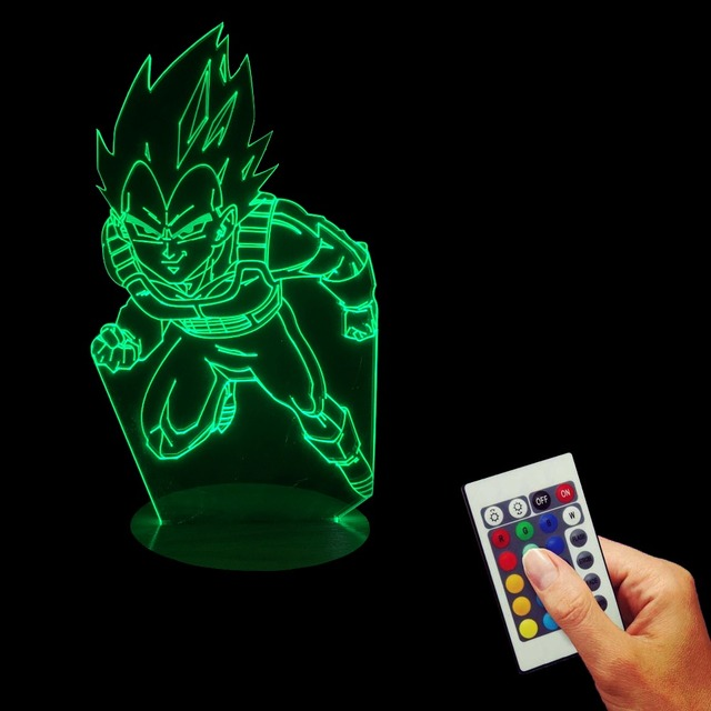 Dragon Ball Z 3D LED Table Light