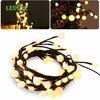 LEDGLE 2 5M 72Leds Outdoor Lighting LED Ball String Lamps Black Wire Christmas Lights Fairy Wedding