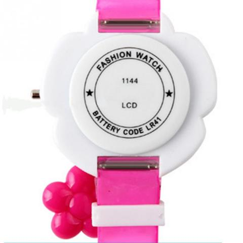 Lovely Kids Watches Flower Cute Children Watches Cartoon Silicone Digital Wristwatch For Kids Boys Girls Wrist Watches Relogio Multan
