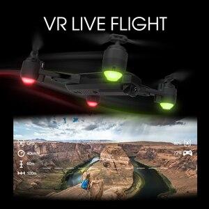 Image 4 - E511S 2.4G 4CH نظام تحديد المواقع 6 axis الدوران الديناميكي اتبع واي فاي FPV مع 1080P كاميرا 16 دقيقة وقت الطيران RC الطائرة بدون طيار كوادكوبتر