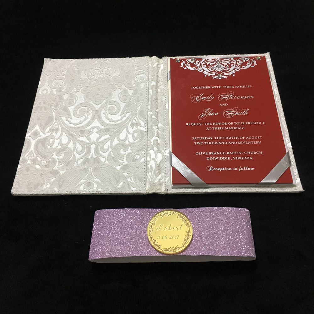 Dorable Wedding Invitation Holders Collection - Invitation Card ...