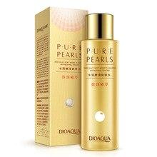 BIOAQUA Pearl Essence Moisturizing Facial  Tender Smooth Moisturizing Firming Nourishing Repair Brighten Shrink Pores 120ml