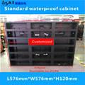 Светодиодный Стандартный водонепроницаемый шкаф/576 мм * 576 мм/светодиодный шкаф/P3/P6
