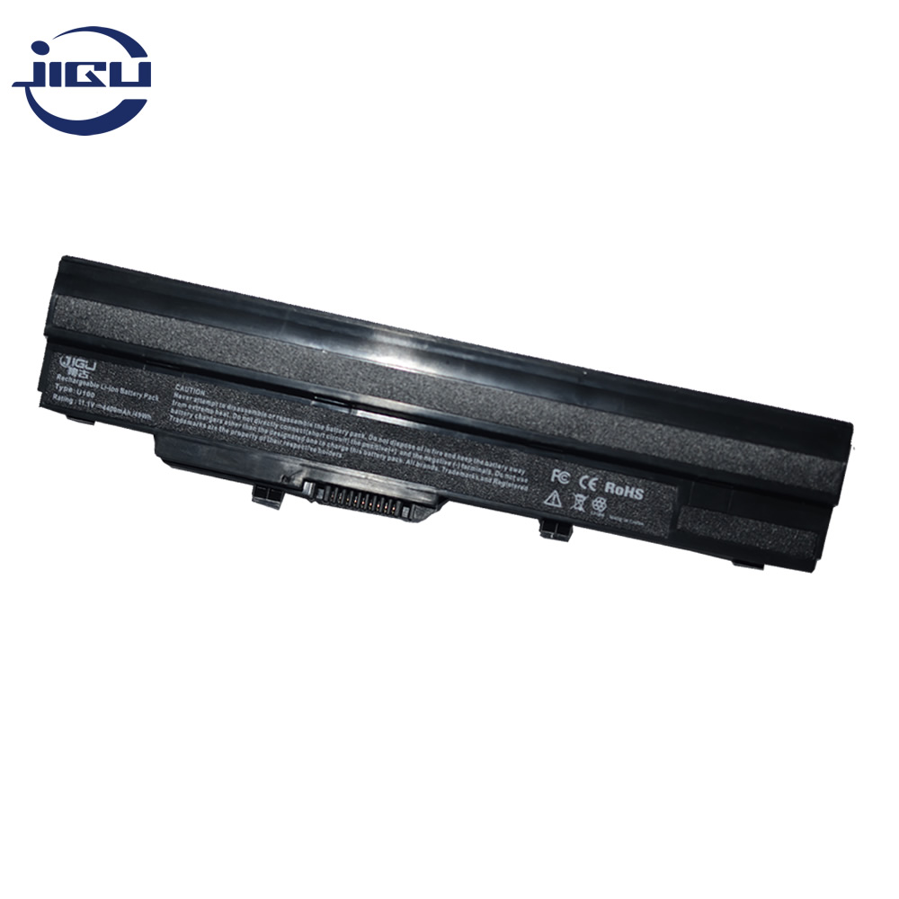 JIGU Laptop Battery BTY-S11 BTY-S12 For Msi X100 X100-G X100-L Akoya Mini E1210 Wind U100 U90 Wind12 U200 U210 U230 6Cells(China)