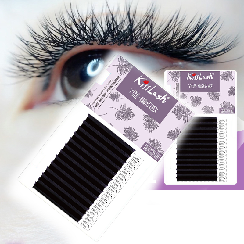 Detail Feedback Questions About Caramel Y Type Eyelashes Pre Made