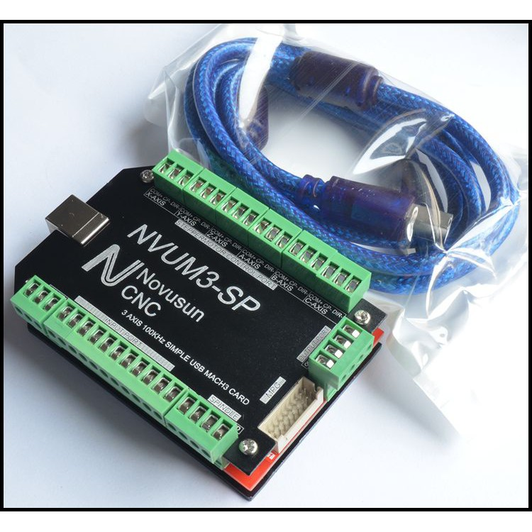NVUM3 SP USB MACH3 Interface Board Card 3 Axis CNC