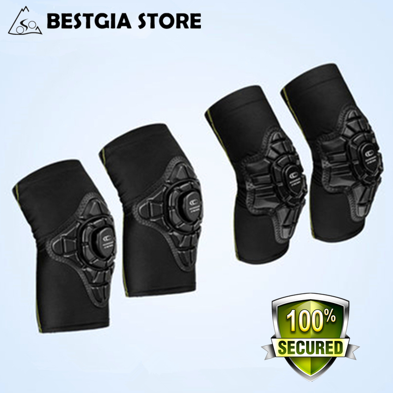 4Pcs set Cycling Children Elbow Pads Knee Pads Silicone Gel Elbow Protect Cover Sport Safety Pulley