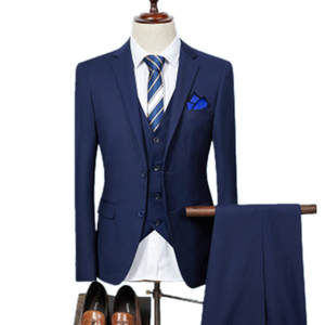 GODLIKE 2018 Men Business Slim Wedding Dress Blazers Coat