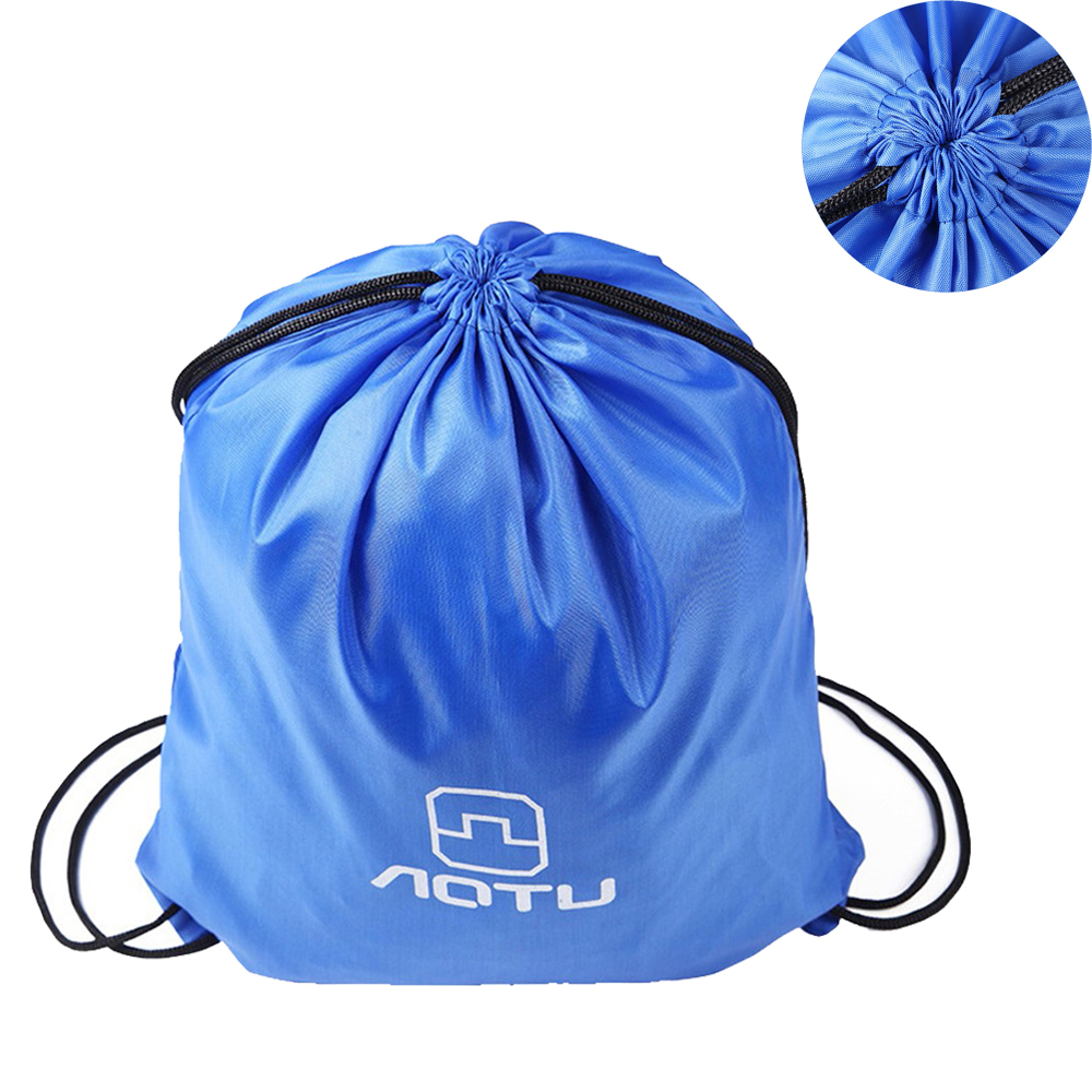 Outdoor Drawstring Storage Bag Clothing Backpack Waterproof Cycling Bag Utility Package Shoes Pocket for Camping Hiking Running