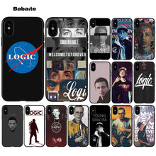 Babaite logic rapper Zachte Siliconen TPU Telefoon Cover voor Apple iPhone 7 8 6 6S Plus X XS MAX 5 5S SE XR Cover(China)