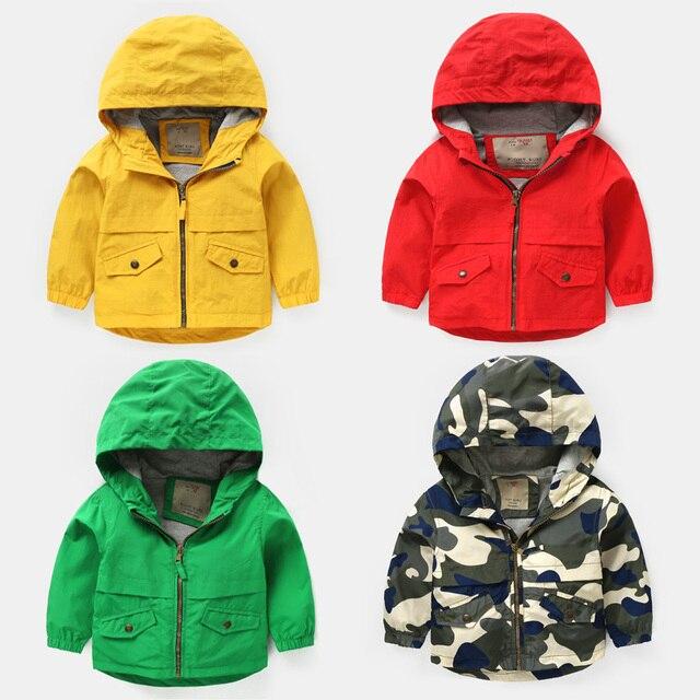 621f996fc4bc Spring Autumn Jackets for Boy Coat Bomber Jacket Army Green Boy s  Windbreaker Jacket letter Print Kids Children Jacket