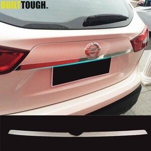 Image 1 - Per Nissan Rogue Sport Qashqai j11 2014   2019 Chrome Posteriore del Tronco del Coperchio Portellone Maniglia di Portello Della Copertura Trim Stampaggio Auto styling