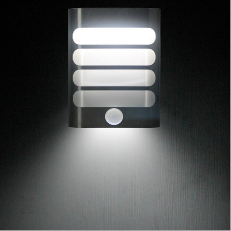 Grnflashin Battery operate led Night Light IR Motion SENSOR Wireless Wall Lamp Light automatic switch Hallway Pathway Staircase led intelligent night light motion human body induction radar sensor stair light light sensor step staircase hallway lighting
