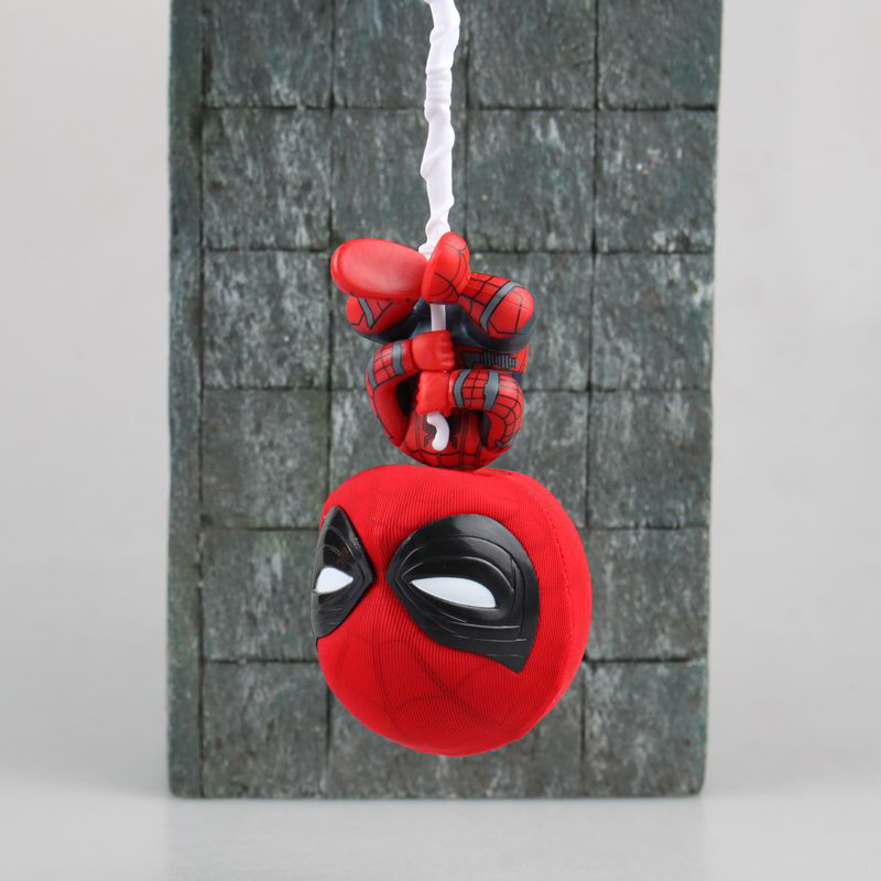 Action & Toy Figures Spider-man Homecoming Mini Action Figure 1/8 Scale Painted Figure Bobble Head Spider-man Doll Pvc Figure Toy Brinquedos Anime