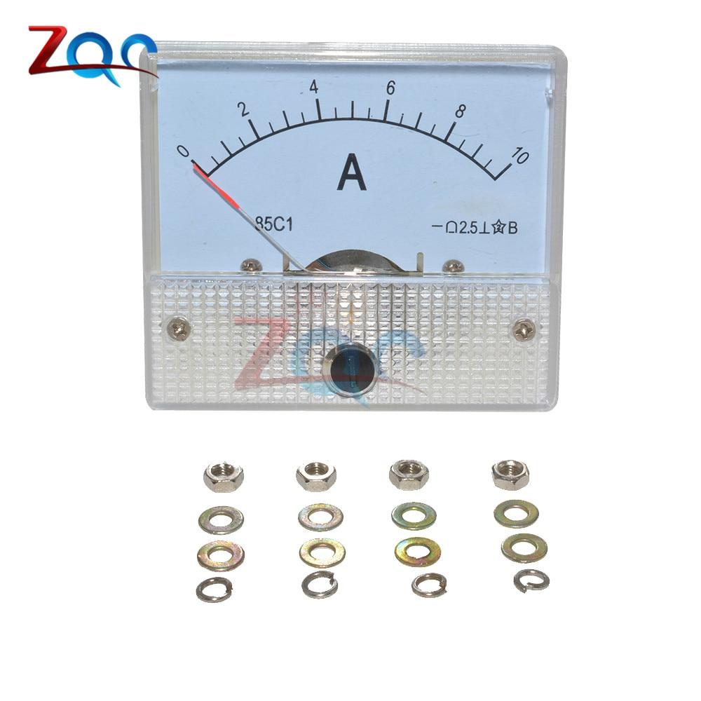 Dc 0 10a Gb  T7676 98 Analog Panel Amp Current Meter Meters