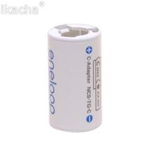 Per Tutti I Tipi Per Sanyo Plc Ene Loop Batteria Adattatore Converter NCS TG C AA R6 a C R14 C Size Ad Alta Quanliyt
