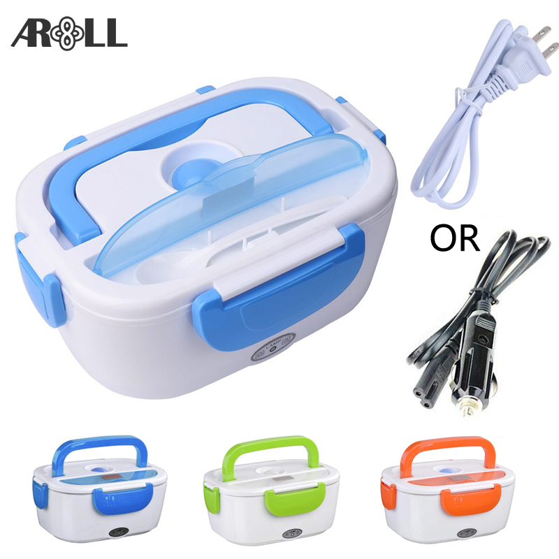 Portable Electric Lunch Box for Car 12V 110V 220V Electric Lunchbox Heated Container For Food Warmer Heating KeepingPortable Electric Lunch Box for Car 12V 110V 220V Electric Lunchbox Heated Container For Food Warmer Heating Keeping