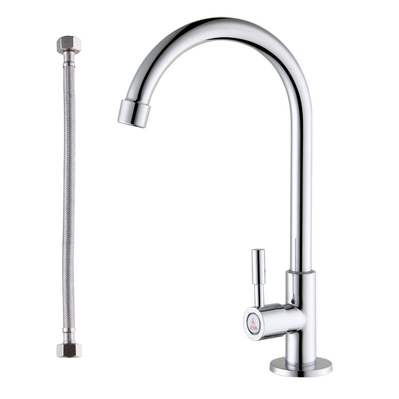 KES K8001A Cold Tap Single Lever Kitchen Pantry Bar Faucet with 24 ...